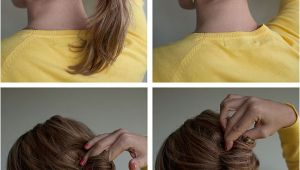 Easy French Roll Hairstyle Hairstyle How to Easy French Roll Hair Romance