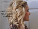 Easy Fun Hairstyles for Medium Length Hair Front Side Twist Hair Tutorial Fun & Easy Hair How to