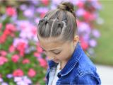 Easy Gymnastics Hairstyles How to Create A Chain Link Braid