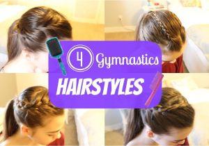 Easy Gymnastics Meet Hairstyles Gymnastics Hairstyles