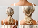 Easy Hairstyles at Home for Medium Length Hair A Twist A Flip and A Couple Of Pins Great for Medium Length Hair