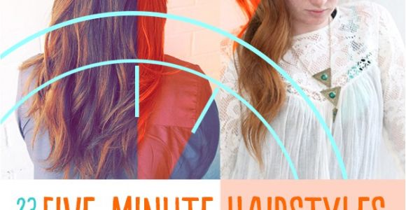Easy Hairstyles Buzzfeed 23 Five Minute Hairstyles for Busy Mornings