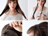 Easy Hairstyles Can Be Made at Home Creative Hairstyles that You Can Easily Do at Home 011