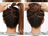 Easy Hairstyles Done at Home Easy Hairstyles for Short Hair to Do at Home