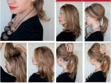Easy Hairstyles Done at Home Easy to Do Hairstyles for Medium Hair at Home