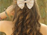 Easy Hairstyles for 7th Graders Small Floral Print Hair Bows Hair Bows for Women and Teens Big