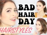 Easy Hairstyles for Bad Hair Days 3 Easy Hairstyles for Bad Hair Days