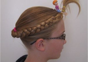 Easy Hairstyles for Crazy Hair Day Crazy Hair Day Babes In Hairland