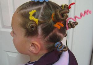 Easy Hairstyles for Crazy Hair Day Crazy Hair Day Styles