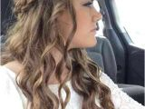 Easy Hairstyles for Curly Hair to Do at Home 16 Beautiful Easy Long Curly Hairstyles – Trend Hairstyles 2019
