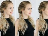 Easy Hairstyles for Curly Hair Youtube Easy Twisted Pigtails Hair Style Inspired by Margot Robbie