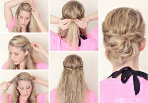 Easy Hairstyles for Damp Hair Hairstyle Tutorials for Wet Hair Page 3