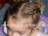 Easy Hairstyles for Dancers Curly Hairdo Ideas toddler Dance Hairstyle