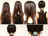 Easy Hairstyles for Girls to Do at Home Coiffure Facile à Faire En Quelques étapes Idées Et Photos