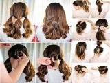 Easy Hairstyles for Girls to Do at Home Easy Hairstyles for Short Hair to Do at Home