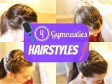 Easy Hairstyles for Gymnastics Gymnastics Hairstyles