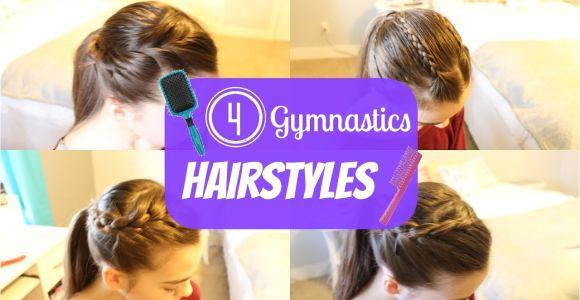 Easy Hairstyles for Gymnastics Gymnastics Hairstyles