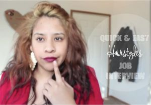Easy Hairstyles for Job Interview Quick and Easy Hairstyles for A Job Interview