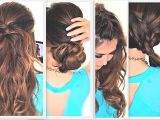Easy Hairstyles for Long Curly Hair to Do at Home Curly Hairstyles Luxury Easy Hairstyles for Long Curly
