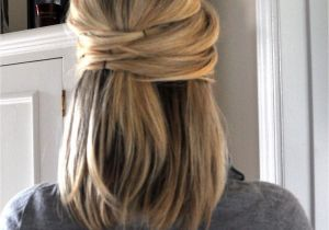 Easy Hairstyles for Medium Length Hair for Party Easy Wedding Hairstyles for Medium Length Hair Simple