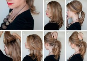 Easy Hairstyles for Medium Length Hair to Do at Home Easy to Do Hairstyles for Medium Hair at Home