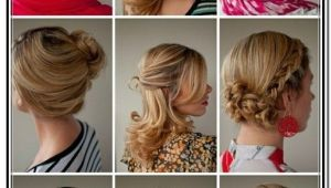 Easy Hairstyles for Medium Length Hair Tutorial Easy Updos for Medium Length Hair Tutorial In Updos
