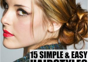 Easy Hairstyles for Medium Length Straight Hair 15 Hairstyles for Medium Length Hair