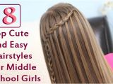 Easy Hairstyles for Middle School Girls top 8 Cute and Easy Hairstyles for Middle School Girls