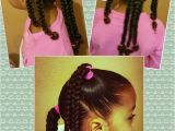Easy Hairstyles for Mixed Girl Hair Mixed Black Braids Girls Kids Curly Curls Natural Hair