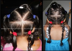 Easy Hairstyles for Mixed Girls Hair Mixed Girl Hairstyles