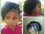 Easy Hairstyles for Mixed Kids Side Twists with Curls Mixed Babies Hairstyles Mixed