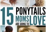 Easy Hairstyles for Moms with Long Hair 15 Cute and Quick Ponytail Ideas to Spruce Up Mom Hair