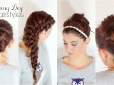 Easy Hairstyles for Rainy Days 4 Hairstyles for Rainy Days