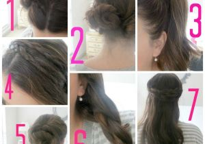 Easy Hairstyles for School Girls Step by Step Easy Hairstyles for School for Teenage Girls Step by Step