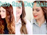 Easy Hairstyles for Second Day Hair Cute without Trying Second Day Hair