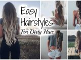 Easy Hairstyles for Second Day Hair Easy No Heat Hairstyles Second Day Hair