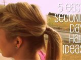 Easy Hairstyles for Second Day Hair How to See Yourself with Different Color Hair
