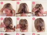 Easy Hairstyles for Short Hair without Heat 15 Easy No Heat Hairstyles for Dirty Hair Hairs Pinterest