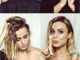 Easy Hairstyles for Short Hair without Heat How to No Heat Beach Waves Tutorial
