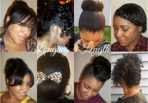 Easy Hairstyles for Short Relaxed Hair 151 Best Afro Winter Protective Style Ideas Images On