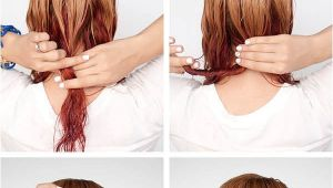 Easy Hairstyles for Short Wet Hair Get Ready Fast with 7 Easy Hairstyle Tutorials for Wet
