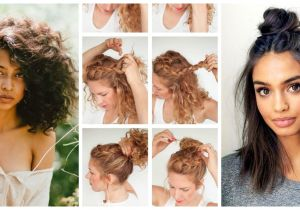 Easy Hairstyles for Shoulder Length Hair without Heat No Heat Hairstyles that are Superpopular On Pinterest