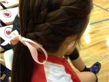 Easy Hairstyles for Sports Easy School Hairstyle for Sports Elle Hairstyles
