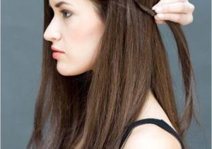 Easy Hairstyles for Straightened Hair 33 Quick and Easy Hairstyles for Straight Hair the Goddess