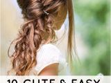 Easy Hairstyles for Teenagers 10 Cute and Easy Hairstyles for Kids