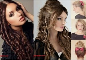 Easy Hairstyles for Wavy Hair for School Zurbahan Blog School Hairstyles for Curly Hair