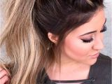 Easy Hairstyles In A Ponytail 59 Easy Ponytail Hairstyles for School Ideas