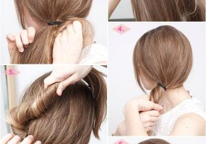 Easy Hairstyles In Steps 27 Easy Five Minutes Hairstyles Tutorials Pretty Designs