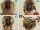 Easy Hairstyles In Steps Bun Hairstyles for Your Wedding Day with Detailed Steps