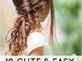 Easy Hairstyles In the Morning 10 Cute and Easy Hairstyles for Kids